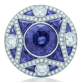 Great Gatsby Collection Sapphire Ring by Tiffany & Co