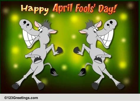 Kick Some Ass! Free Happy April Fools' Day eCards