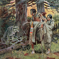 Charles Marion Russell, Indian old-man stories
