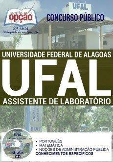 Apostila concurso UFAL AL ASSISTENTE DE LABORATÓRIO