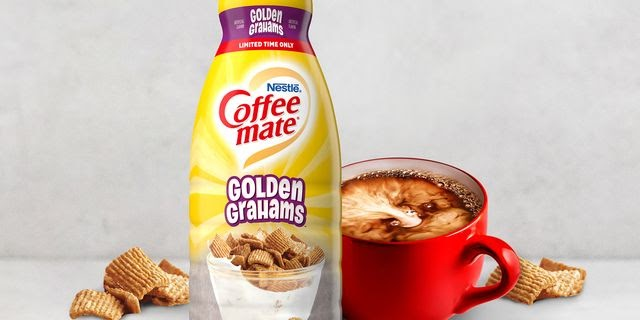 Coffee Mate Is Releasing A Golden Grahams Cereal-Flavored Creamer To Start The Day Off Right