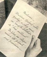 rp lettre