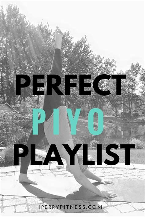 perfect  piyo playlist exercising piyo beachbody