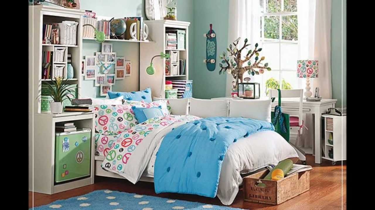 Teen Bedroom Ideas/Designs For Girls - YouTube