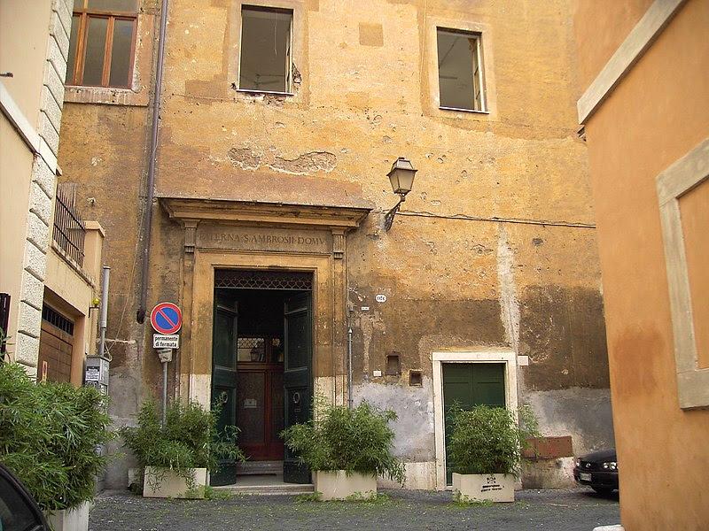 Fil: Casa di Sant Ambrogio al Portico di Ottavia 0511-01.jpg