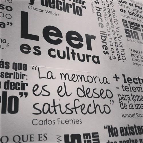 Leer es cultura