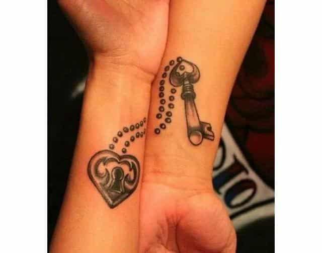 50 Tatuajes Para Parejas De Novios Que Sienten Amor Verdadero