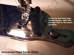 01 - Feed Cover Plate