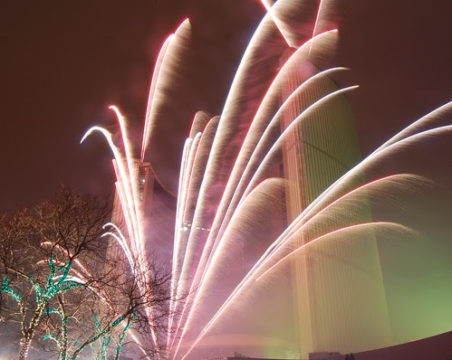 Fireworks at Cavalcade of Lights 3
