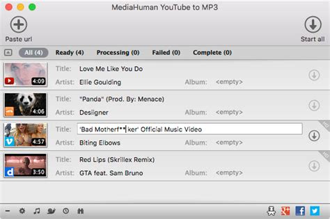 mediahuman youtube  mp converter  mac