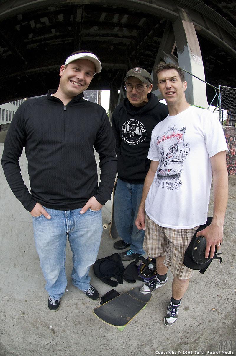 Chad, MC and Dave @ Burnside