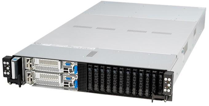ASUS RS620SA-E10-RS12: world's first 6-node 2U server with AMD EPYC 7002