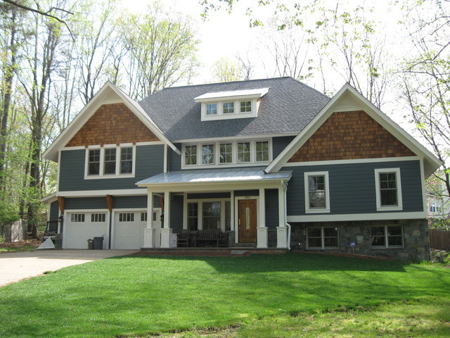 Split Level Home Exterior