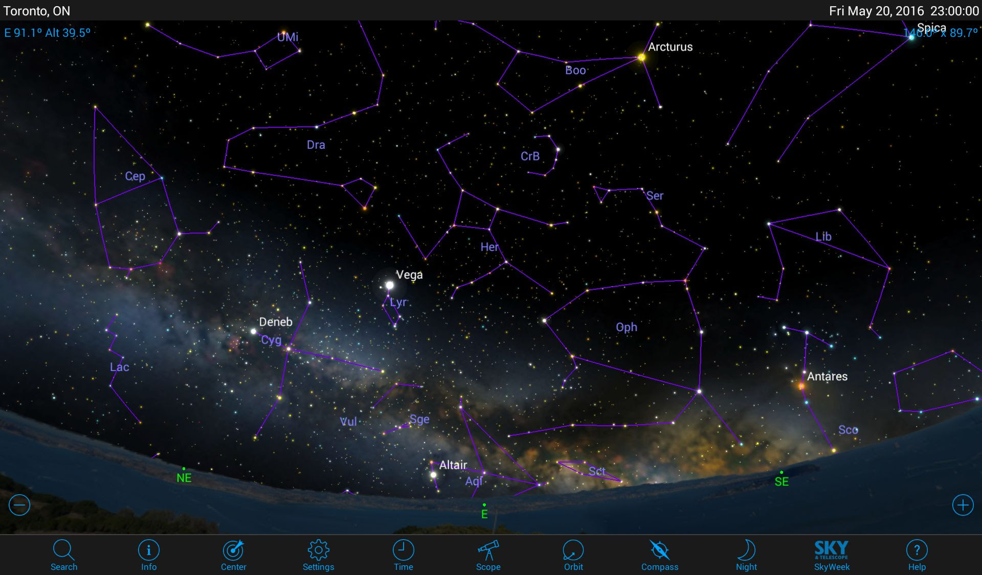 Discover the Treasures of Hercules with Mobile Astronomy Apps