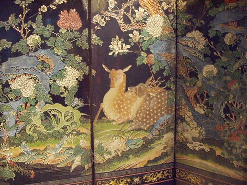76 China Screen 17thC
