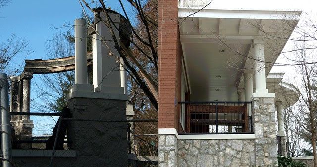 PB281986-2009-11-28-Goose-Burned-Paideia-School-North-Porch-before-After