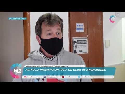"""""""El Club de los Animadores"""", una iniciativa municipal que busca capacitar a jovenes de 16 a 20 años"""