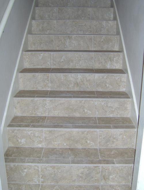 Плитка для лестницы в доме