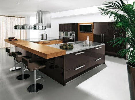 Urban Kitchen Designs from Copat - new Salina / Kos kitchen