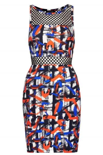 Topshop Airtex Bodycon Dress