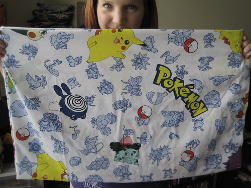 Pokemon Pillowcase