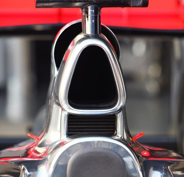 Il sistema di raffreddamento della McLaren MP4-26