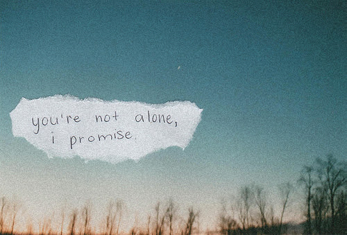 Youre Not Alone I Promise Spring Quote Quotespicturescom