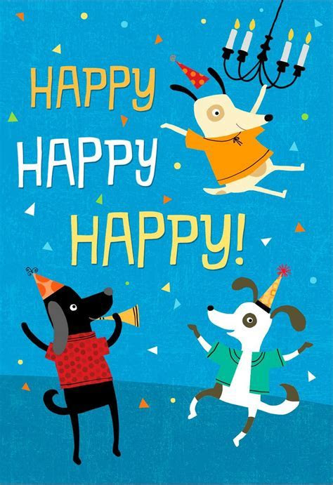 Who Let the Dogs Out Musical Birthday Card   Greeting