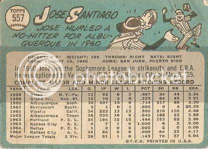 #557 Jose Santiago (back)