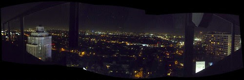 Andaz West Hollywood rooftop pan