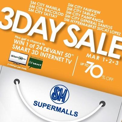 SM City Manila's 3 Day Sale