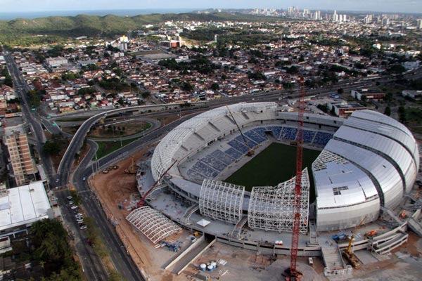 Arena das Dunas receberá jogos da primeira fase da Copa do Mundo