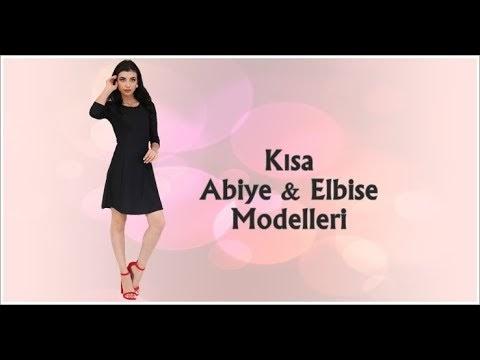 Kısa Abiye Elbise Modelleri 2020 Lookbook