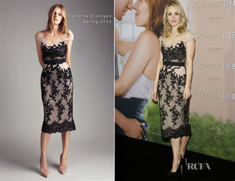 Rachel McAdams In Collette Dinnigan   'The Vow' Germany