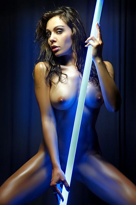 Azul eléctrico por abclic