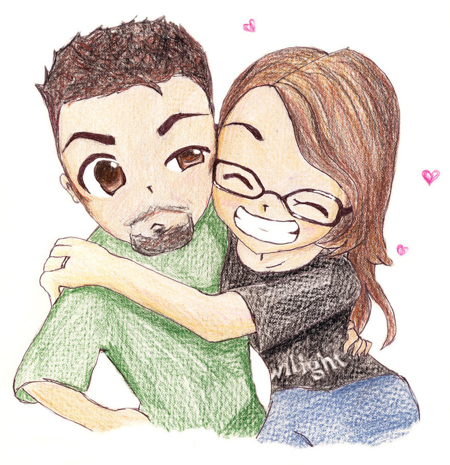 Cute Couple by FallThruStardust on Clipart library