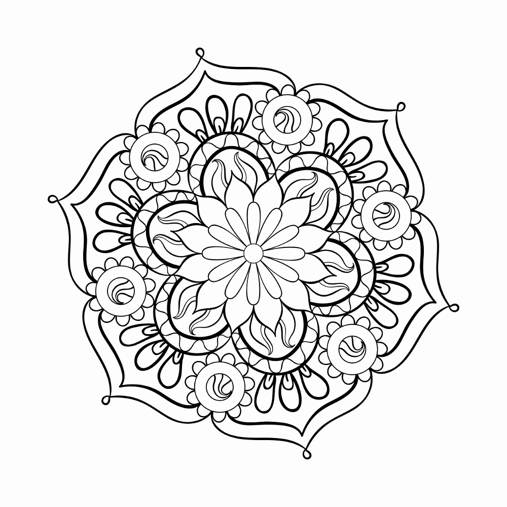Download Free Pdf Adult Coloring Pages at GetColorings.com | Free printable colorings pages to print and ...