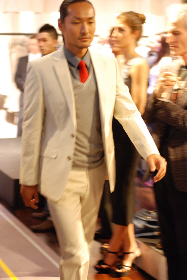 Male Model, Fashion Parade, ESPRIT Icon store launch Sydney