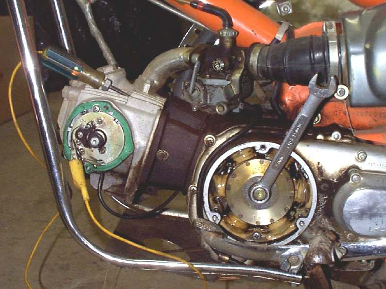 Dan S Motorcycle Battery Coil Ignition