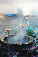 The Havan Homa (ritual)  For Peace Progress and Prosperity by firoze shakir photographerno1