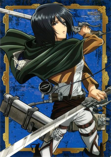 Mikasa Ackerman Wallpaper And Scan Gallery Minitokyo