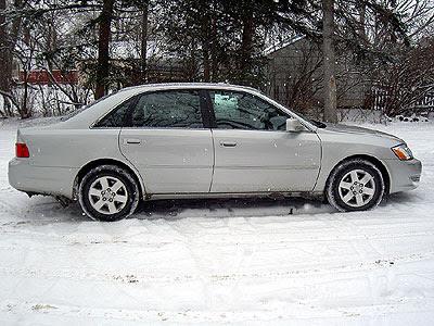 Avalon with regular wheels