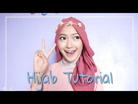tutorial memakai hijab