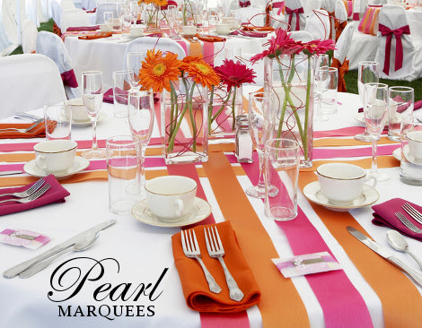 Marquee Decoration Ideas for Table