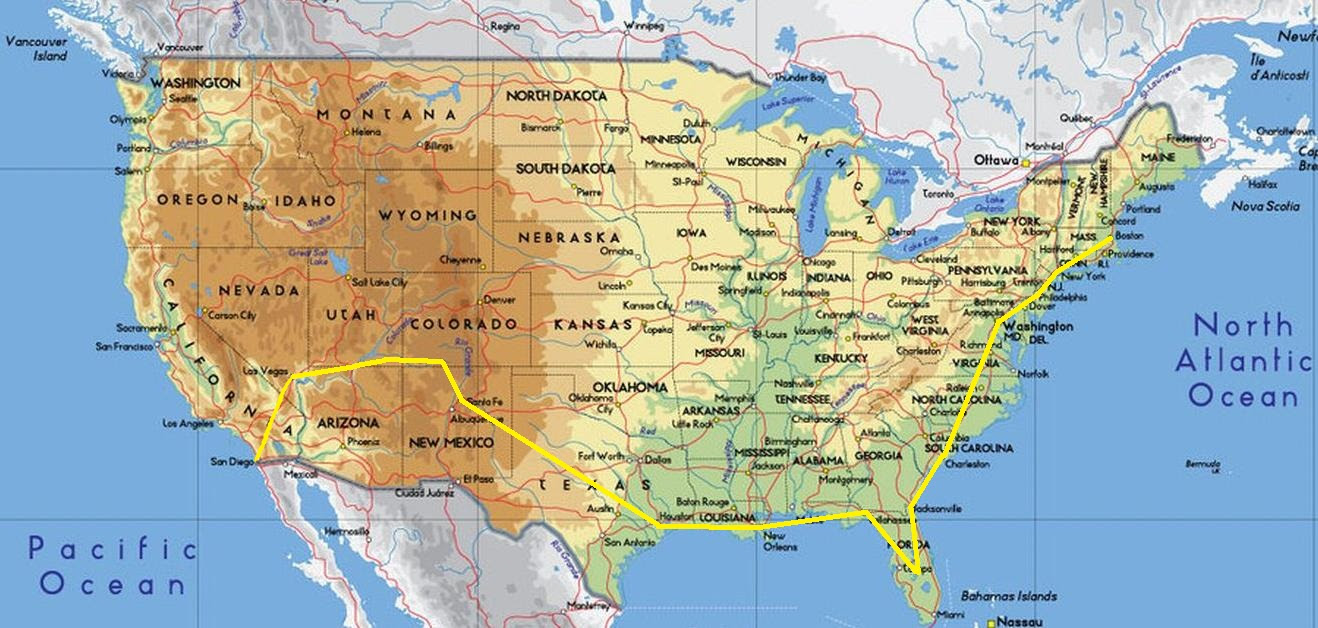 West Coast Usa Map With Cities Www Proteckmachinery Com