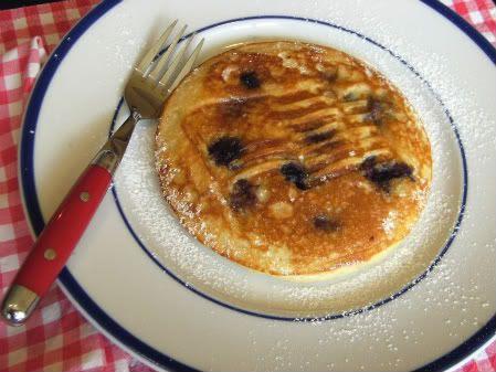 pancake w fork