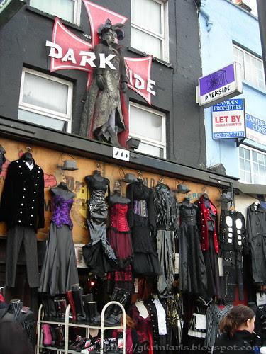 Goth store at Camden High Street