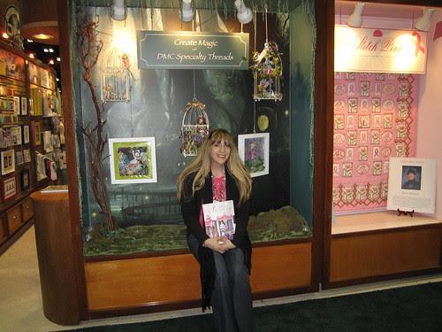 CHA Day 3: DMC Booth, Me, My Display! 2
