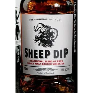 Sheep Dip Scotch Malt 8 Yr. 750ML