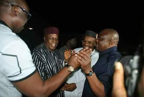 Governors Fayose, Wike Storm Uyo For Akwa Ibom At 30 Celebration (Photos)